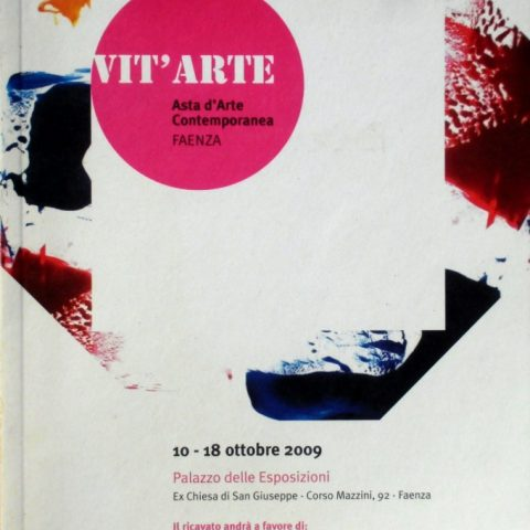 Catalogue Auction of Contemporary Art and Exhibition Palace of Faenza curated by Gian Ruggero manzoni